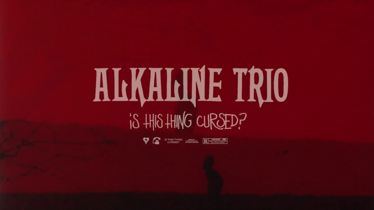 """Alkaline Trio release dark new single """"Is This Thing Cursed?"""""""