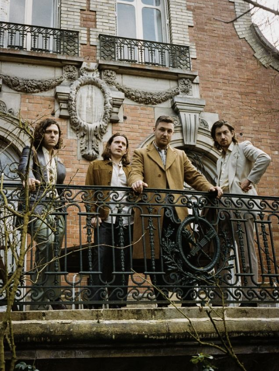 Arctic Monkeys announce 'Tranquility Base Hotel & Casino' 7″, release 'Warp Speed Chic'