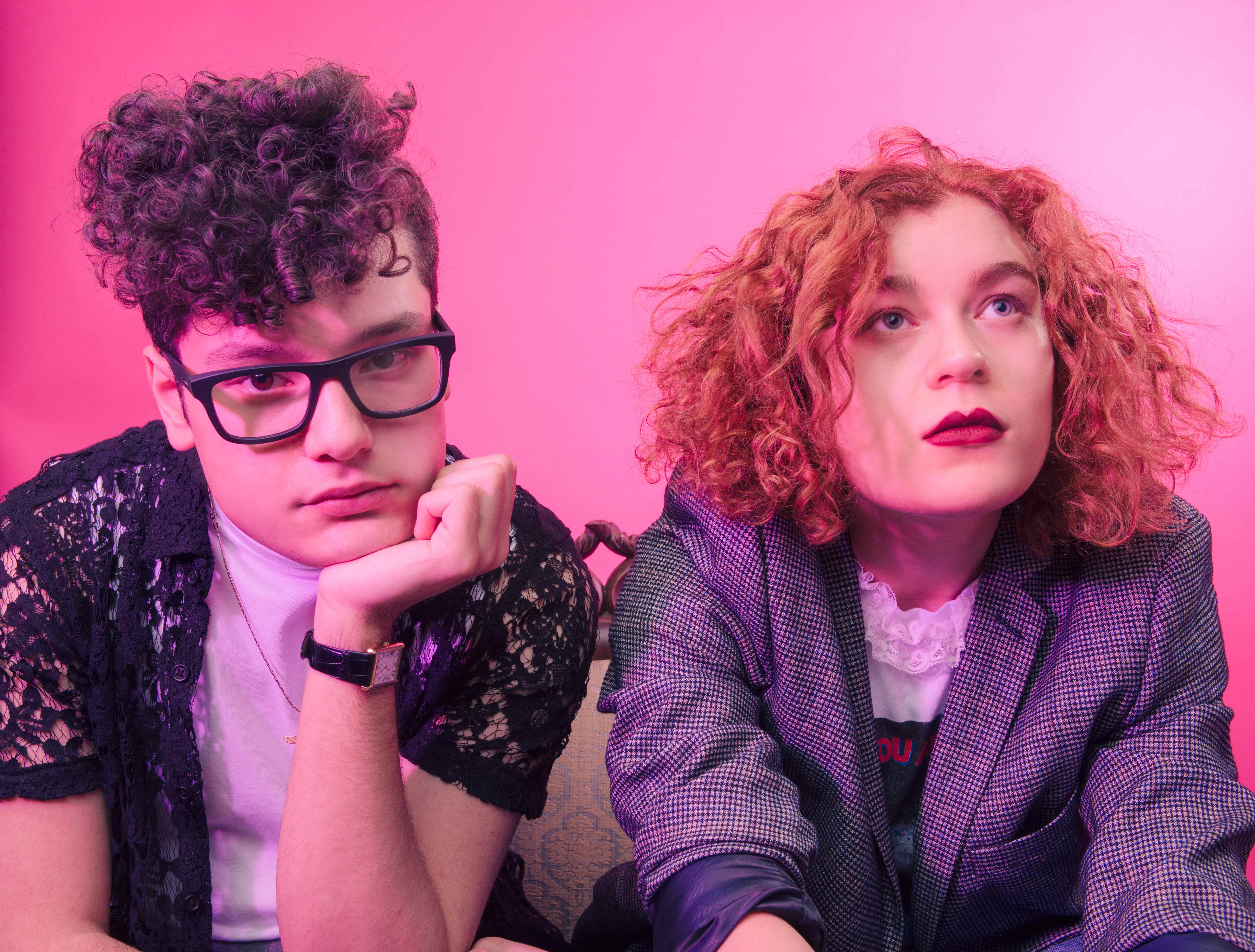 """PREMIERE: Synth-pop duo Posh Hammer share """"Leave Me Here Tonight"""" video"""