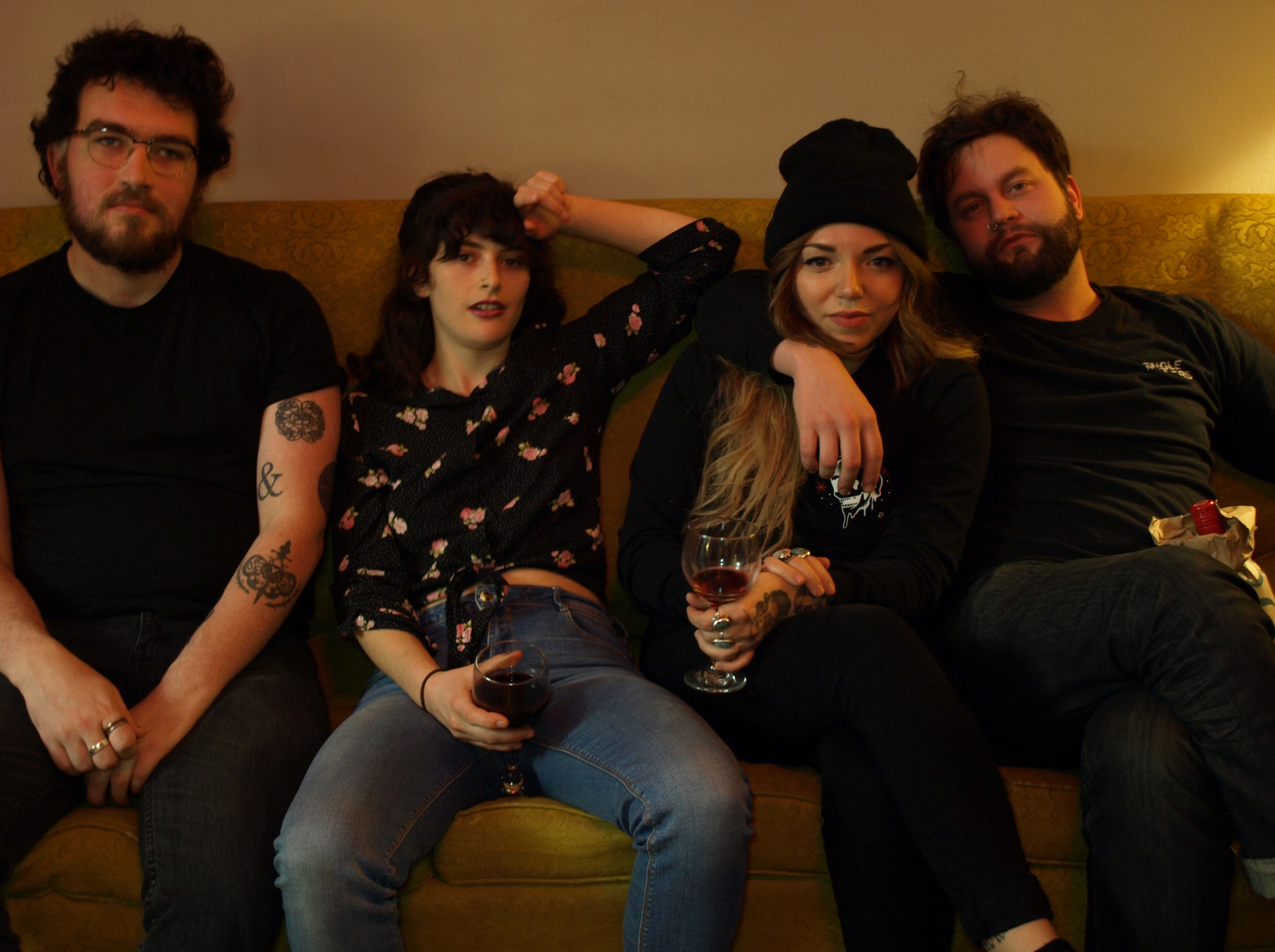 """PREMIERE: Never Betters process their love on """"Alone"""""""