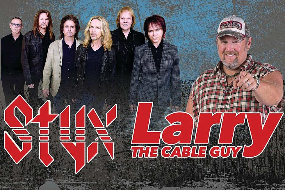 Styx, Larry the Cable Guy team up for 2019 shows