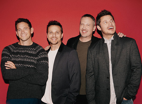 98 Degrees' Justin Jeffre on changes in music industry, holiday tour, and how they're having more fun than ever