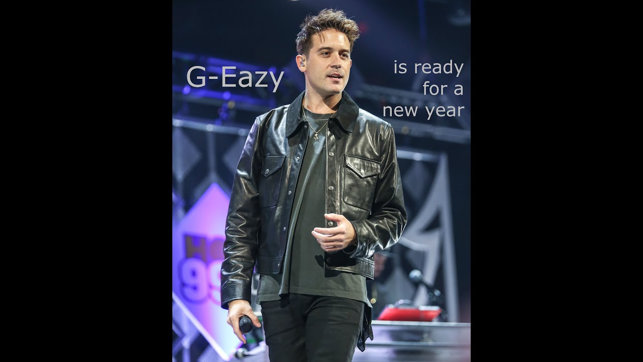 VIDEO INTERVIEW: G-Eazy is ready for a new year