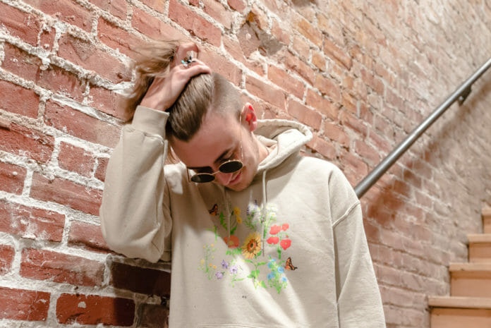 gnash - portrait by Molly Hudelson - broken hearts club tour