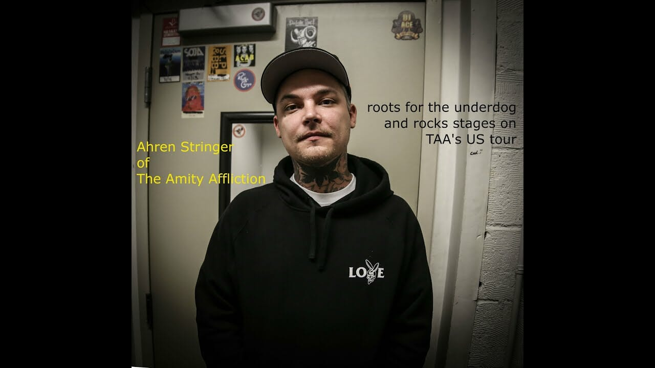 INTERVIEW: Ahren Stringer of The Amity Affliction