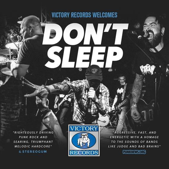Victory Records announces new signing of Don't Sleep