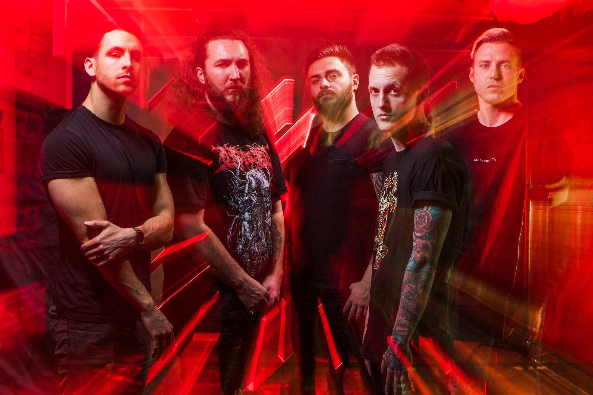 "I Prevail tell the story of their band in ""Hurricane"" video"