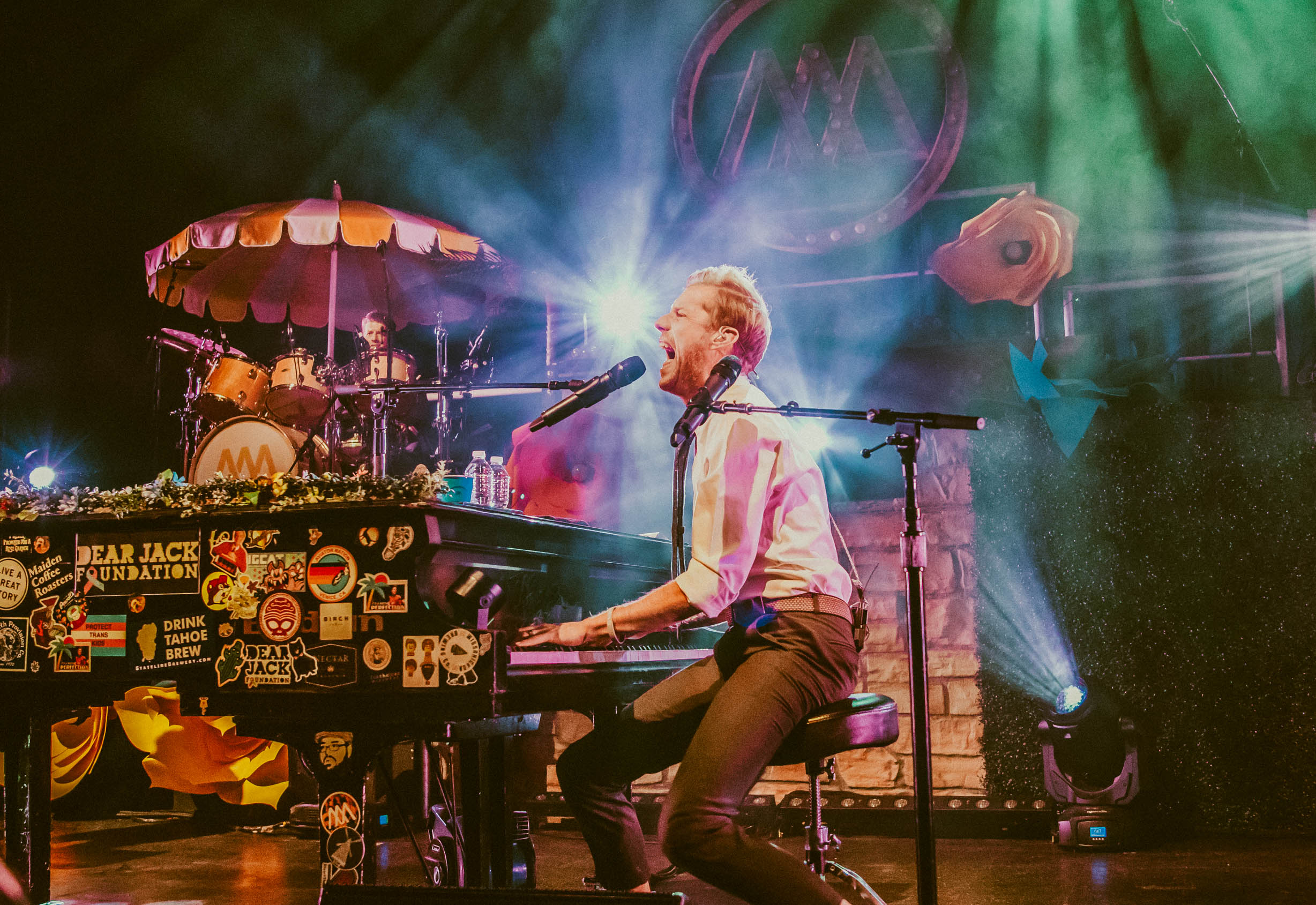 REVIEW: Andrew McMahon brought summer to Chicago in March