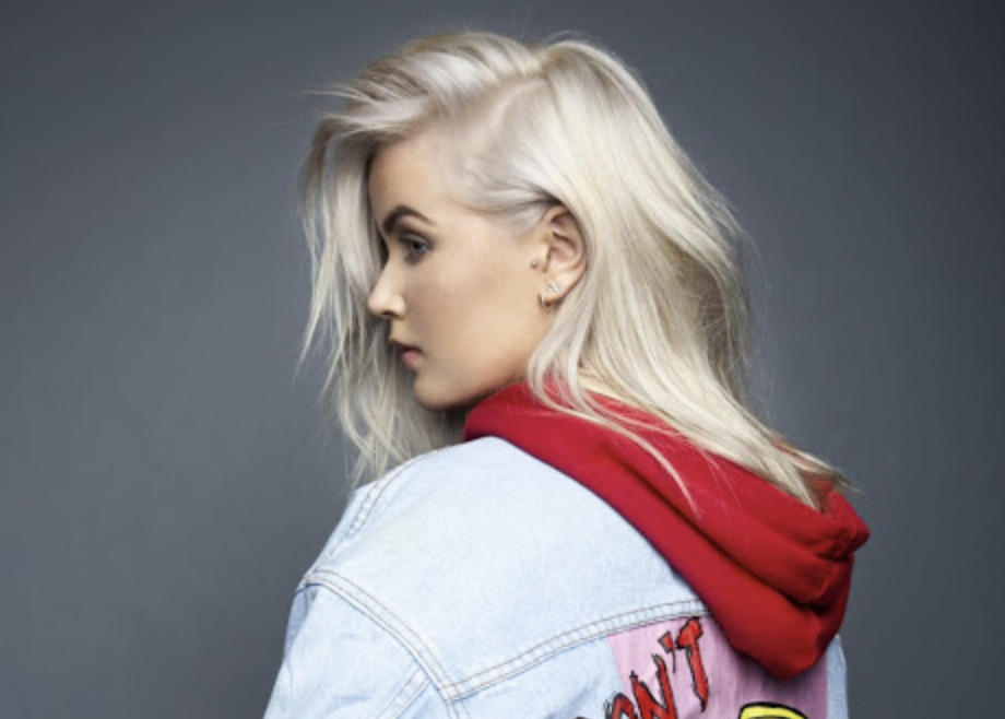 "Listen to Aimée's fierce new pop single, ""Don't Bother"""