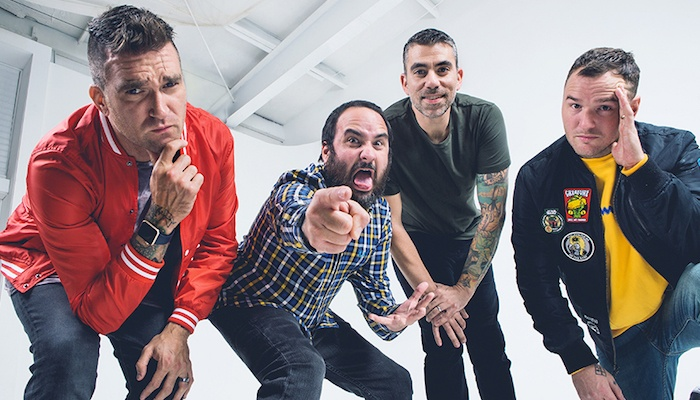 Listen to New Found Glory's new 'Greatest Showman' cover