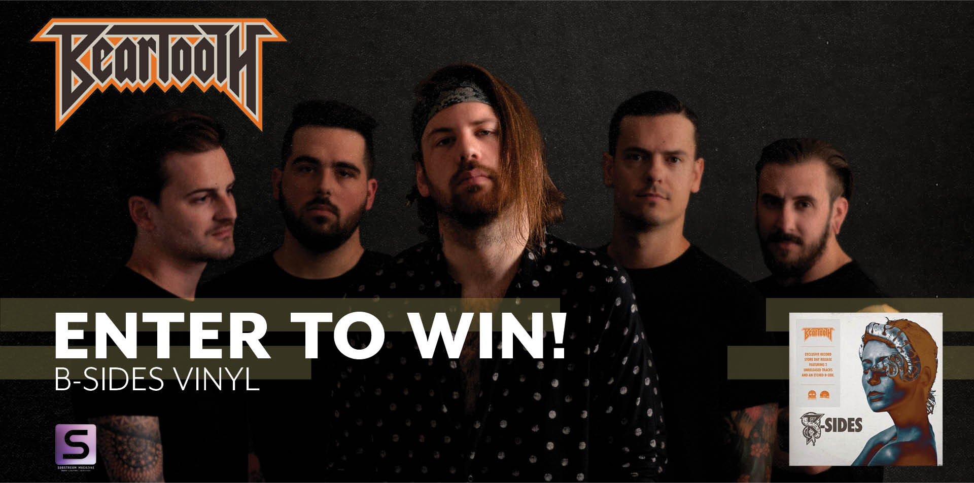 BEARTOOTH B-SIDES GIVEAWAY