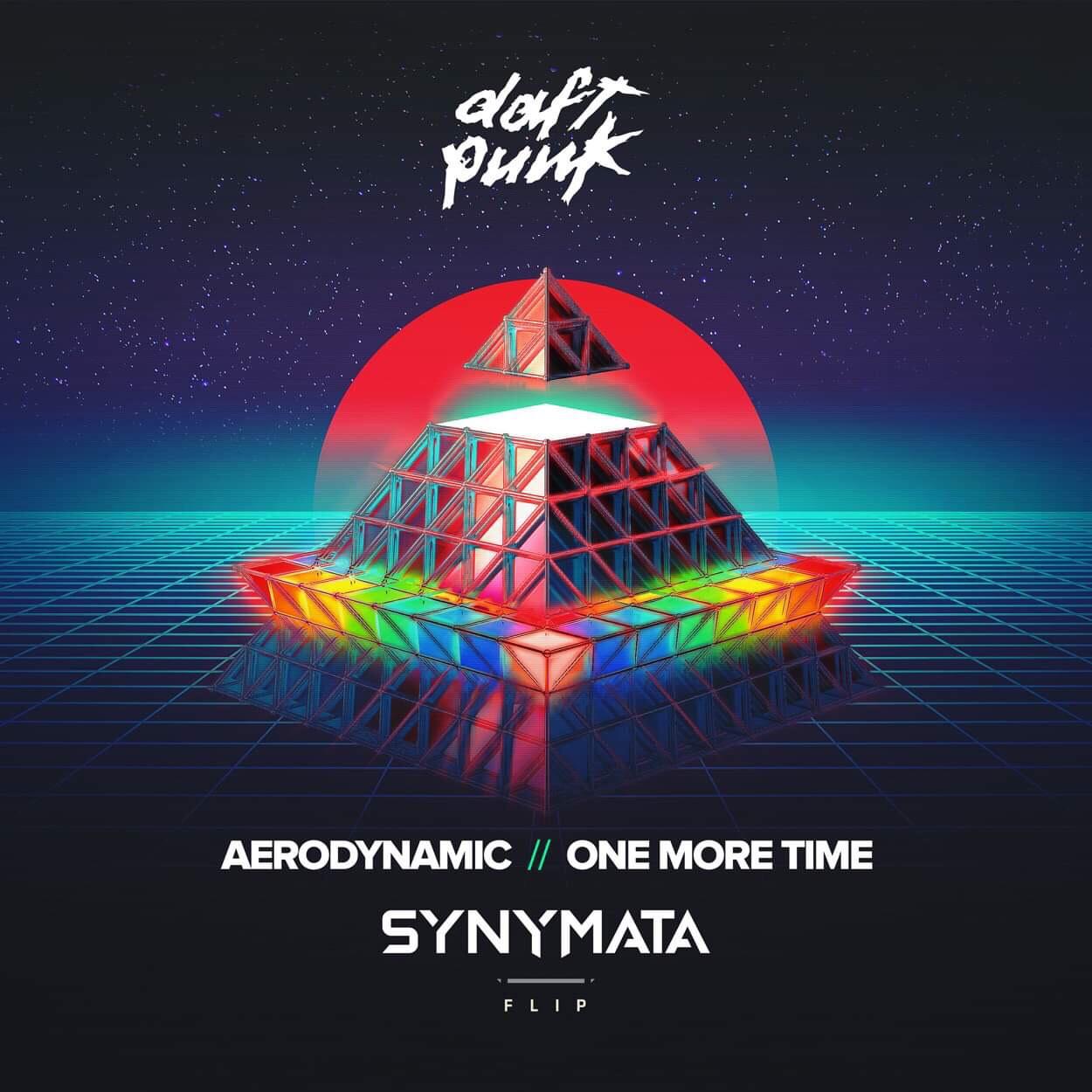 "Synymata Shares Incredible Daft Punk's ""Aerodynamics/One More Time"" Remix"