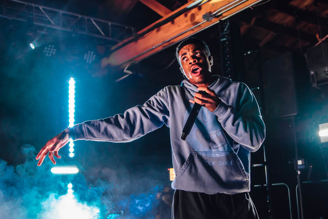 Vince Staples opens House of Vans for the summer