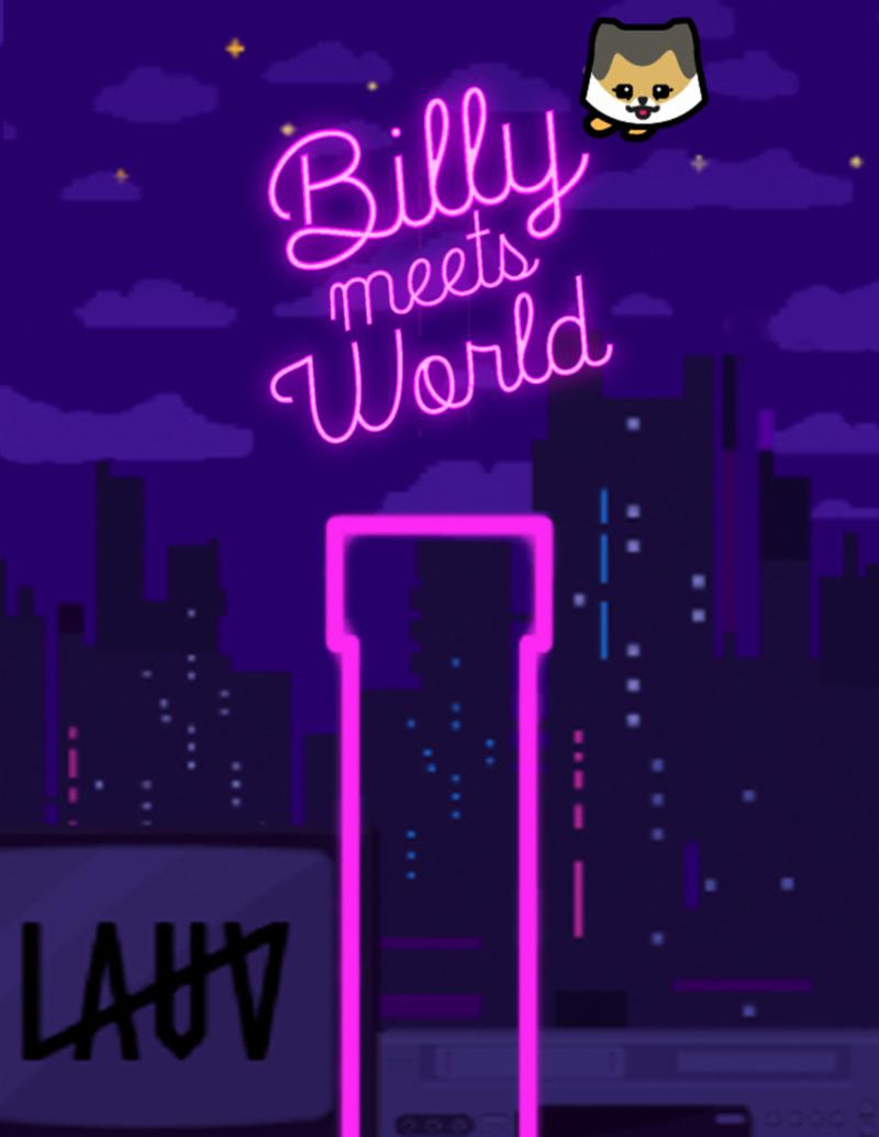 "Lauv creates ""Billy Meets World"" video game starring his dog, Billy"