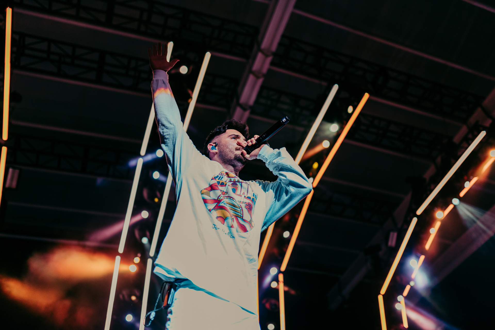 Jon Bellion concludes the Glory Sound Prep tour in Baltimore, MD