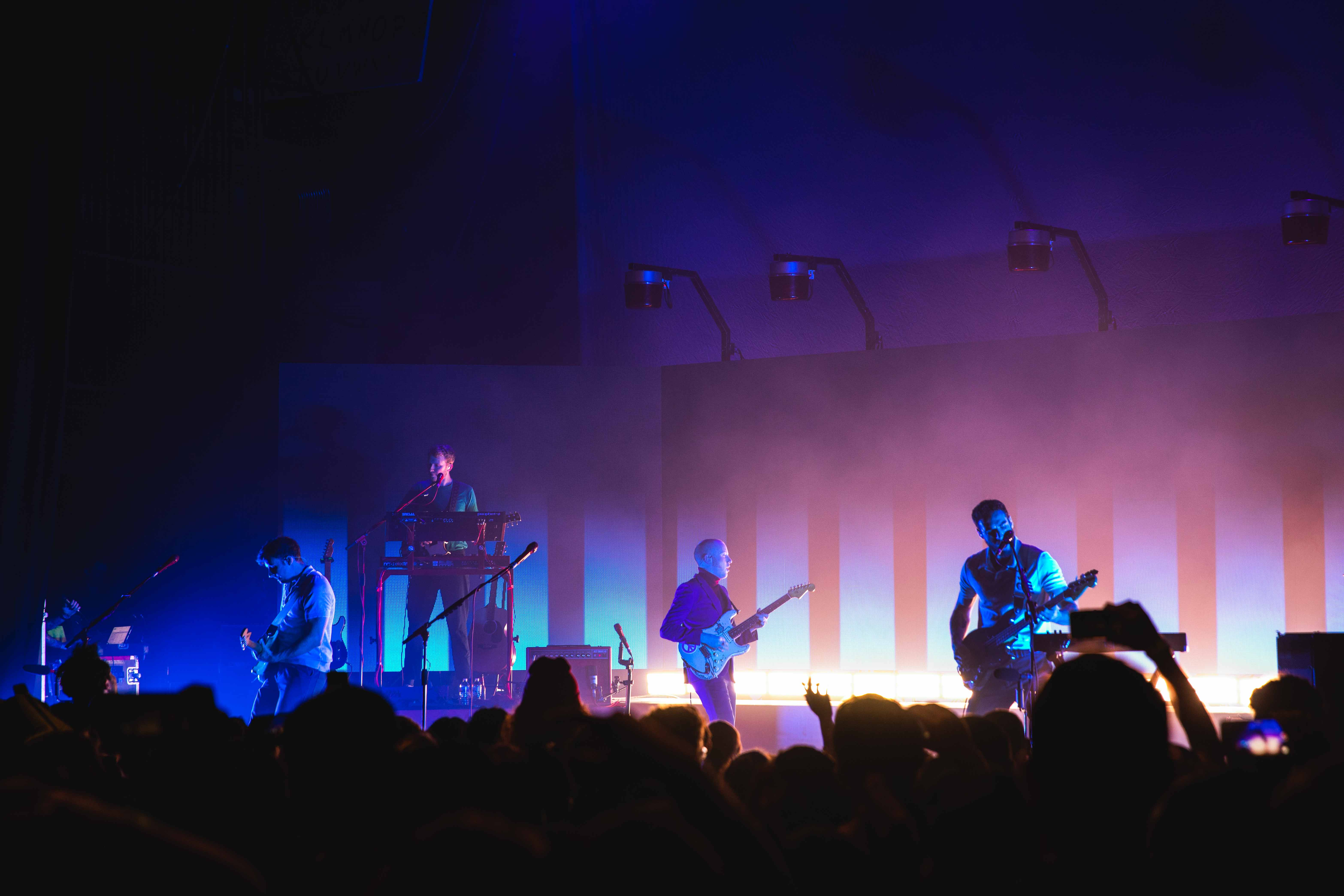 Two Door Cinema Club performs an unforgettable and lively show