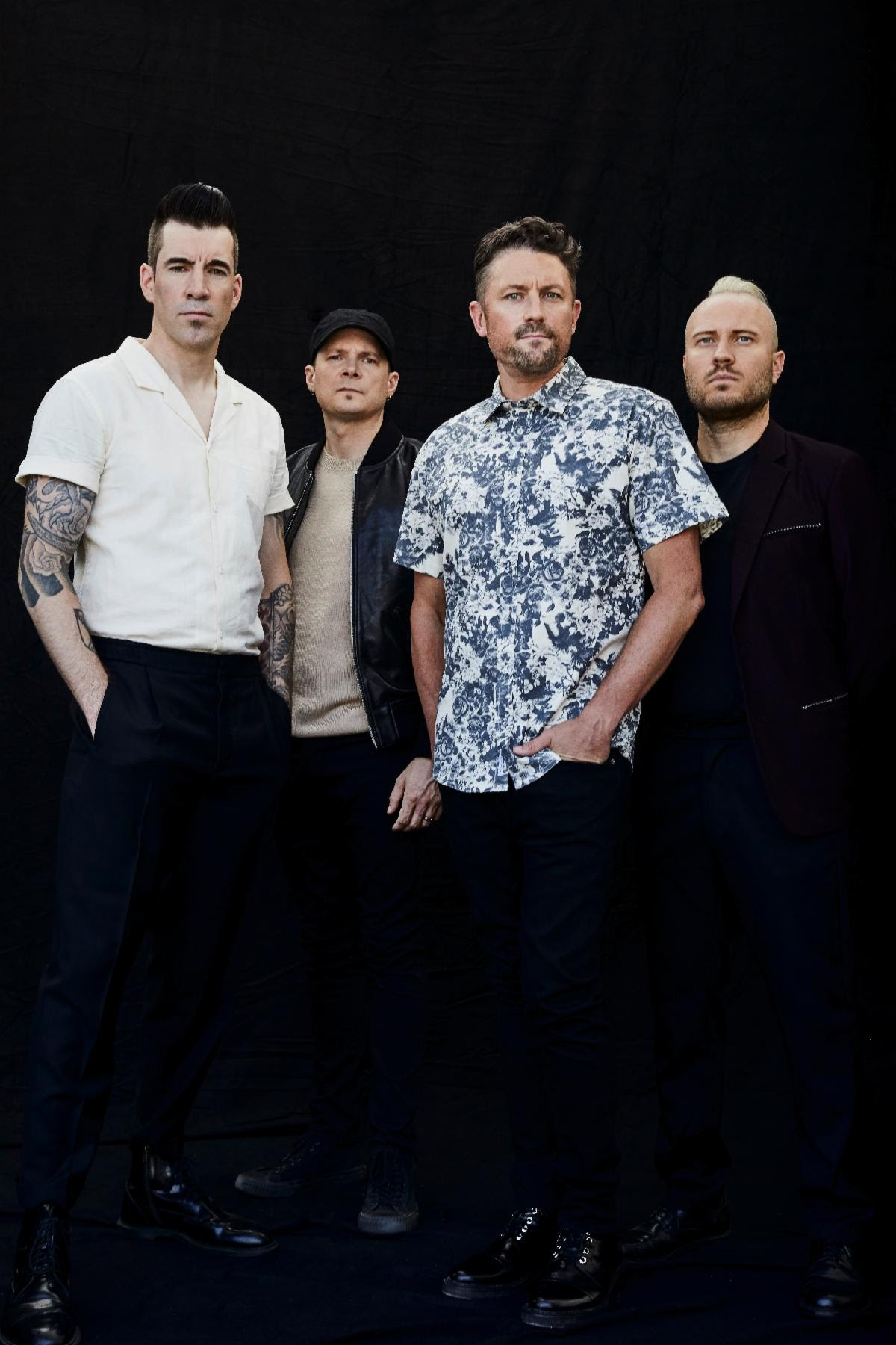 """Theory of a Deadman announce 'Say Nothing' + drop """"History of Violence"""""""