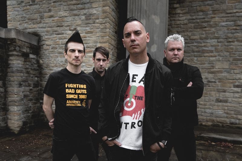 "Anti-Flag's Justin Sane on '20/20 Vision,' voting, and Donald Trump's America: ""There's a lot of people that are being influenced toward violence as a result of this presidency"""