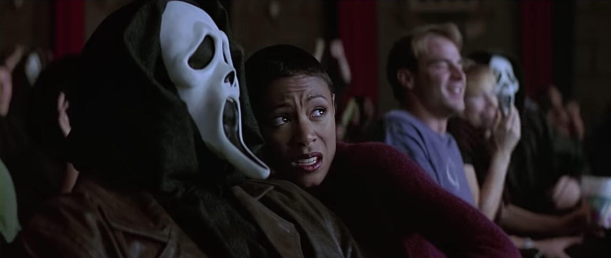 Scream 2 theater