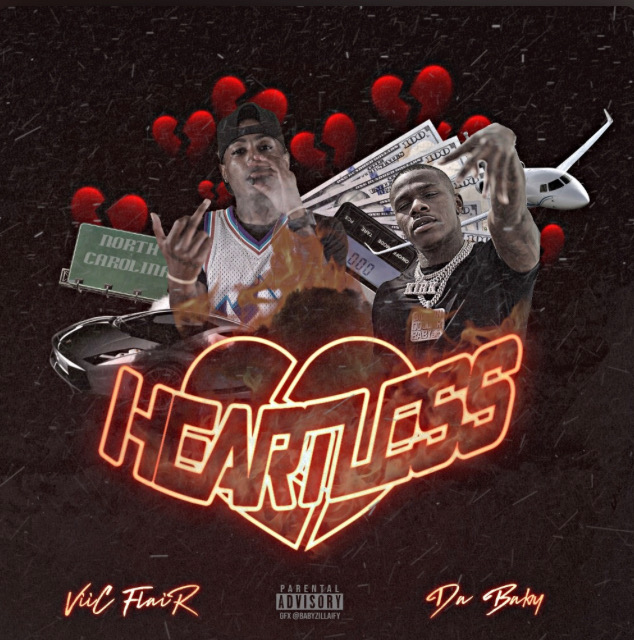"""DaBaby links up with Viic Flair for new song """"Heartless"""""""