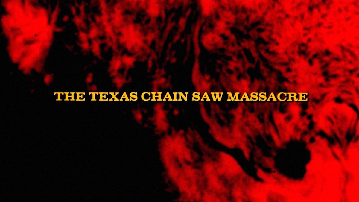 texas chain saw title card