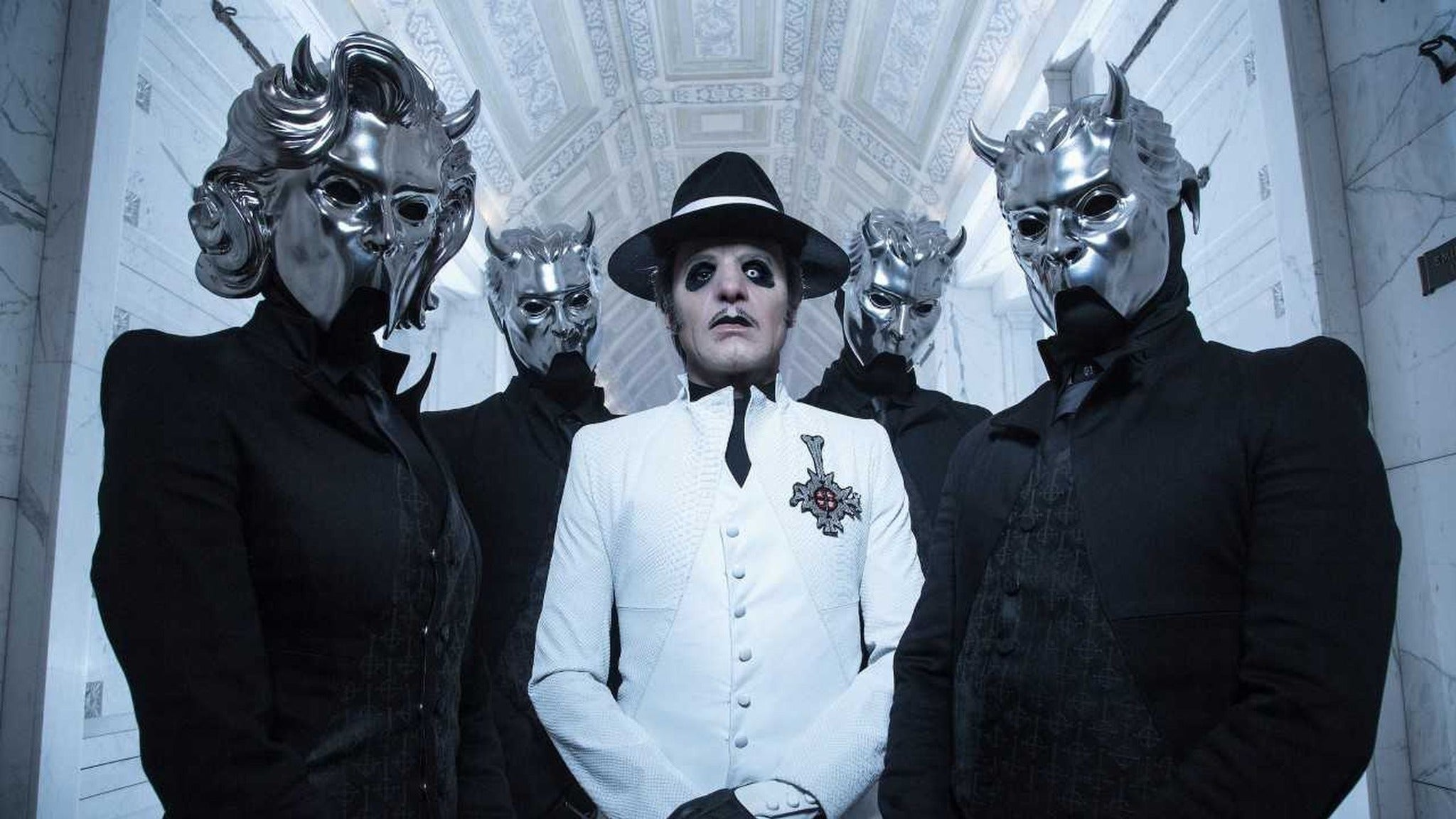 INTERVIEW: Tobias Forge of Ghost talks designing the stage, touring, and what the future holds
