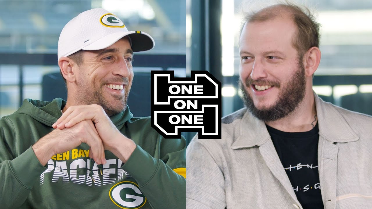Watch Aaron Rodgers And Bon Iver S Justin Vernon Conversation For Gq