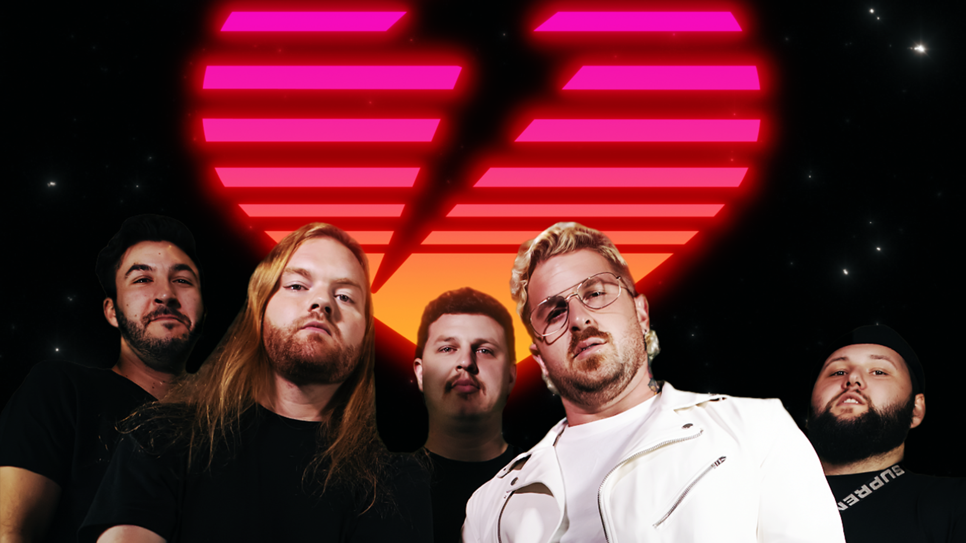 """Fronted by pro wrestler """"Outlandish Zicky Dice,"""" Heart to Heart signs with InVogue Records"""