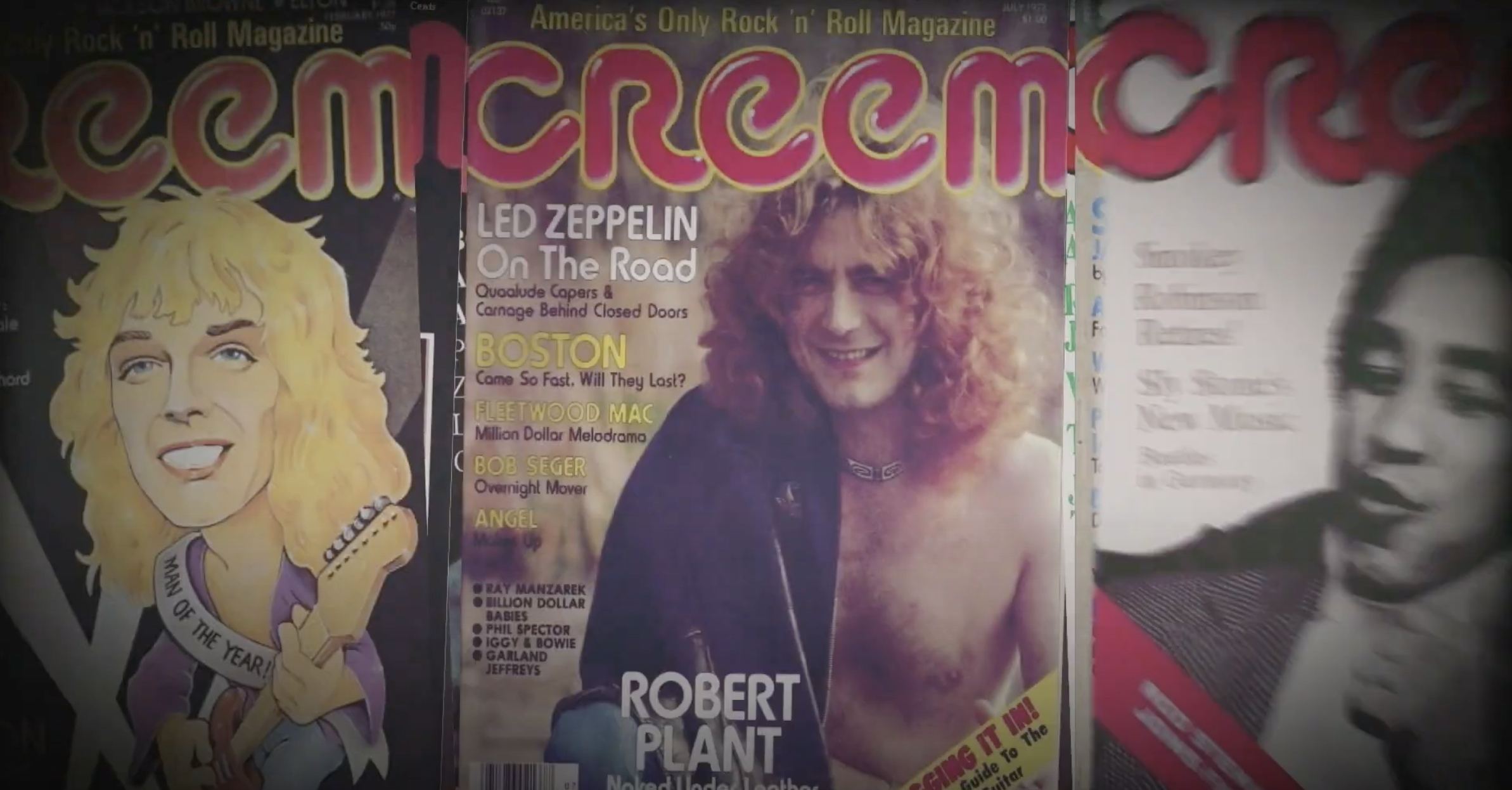 A new documentary CREEM: America's Only Rock 'n' Roll Magazine to be released in theaters