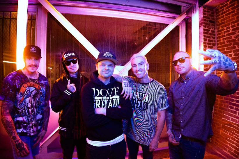 "Hollywood Undead announce new album + release ""Heart to Champion"" feat. Jacoby Shaddix and Spencer Charnas"