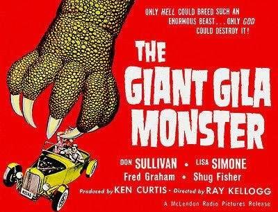 Substream's 14 Days of Halloween: 'The Giant Gila monster' (1959)