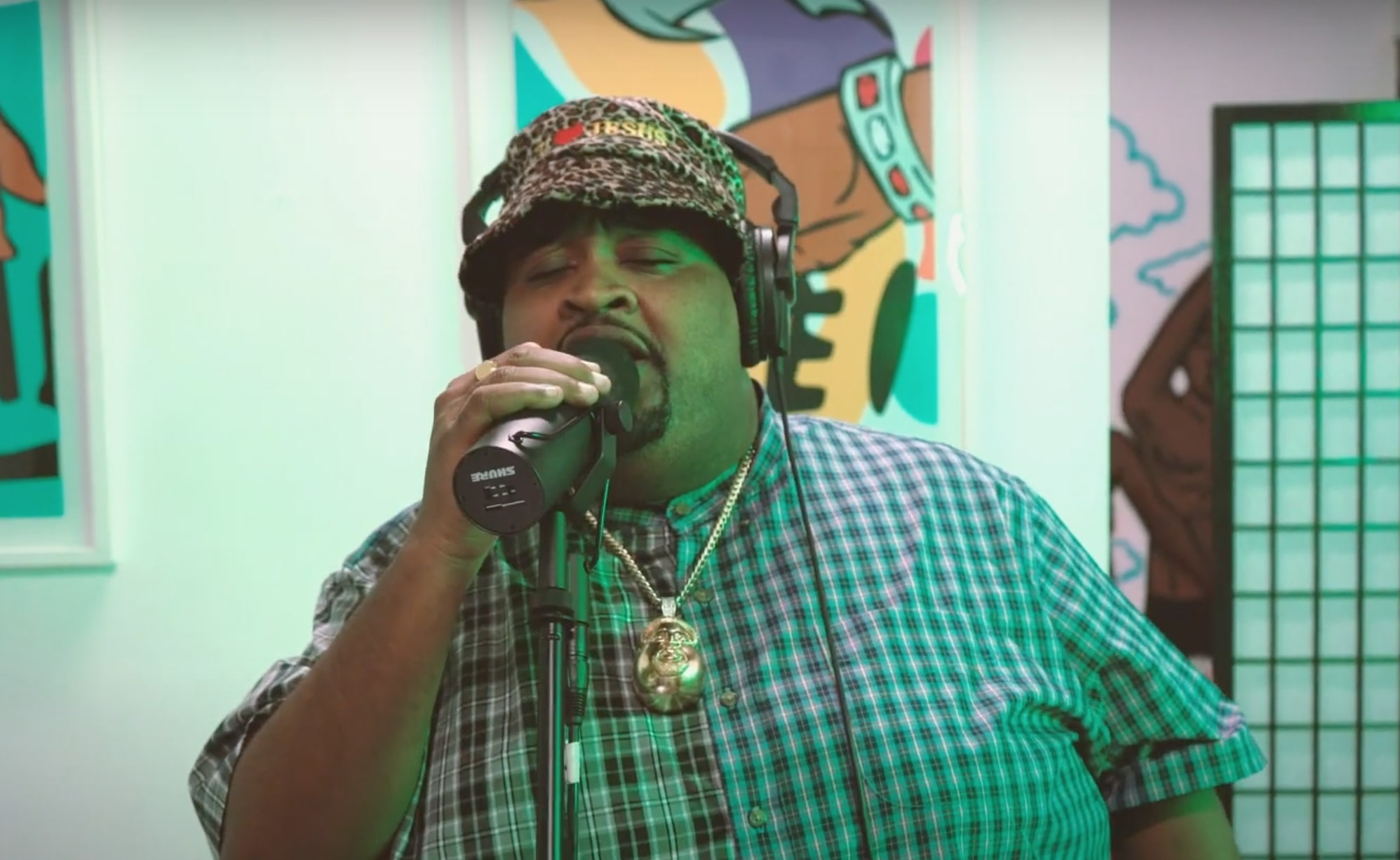 """Watch LunchMoney Lewis Livin' Things Up With """"Money Dance"""" Session"""