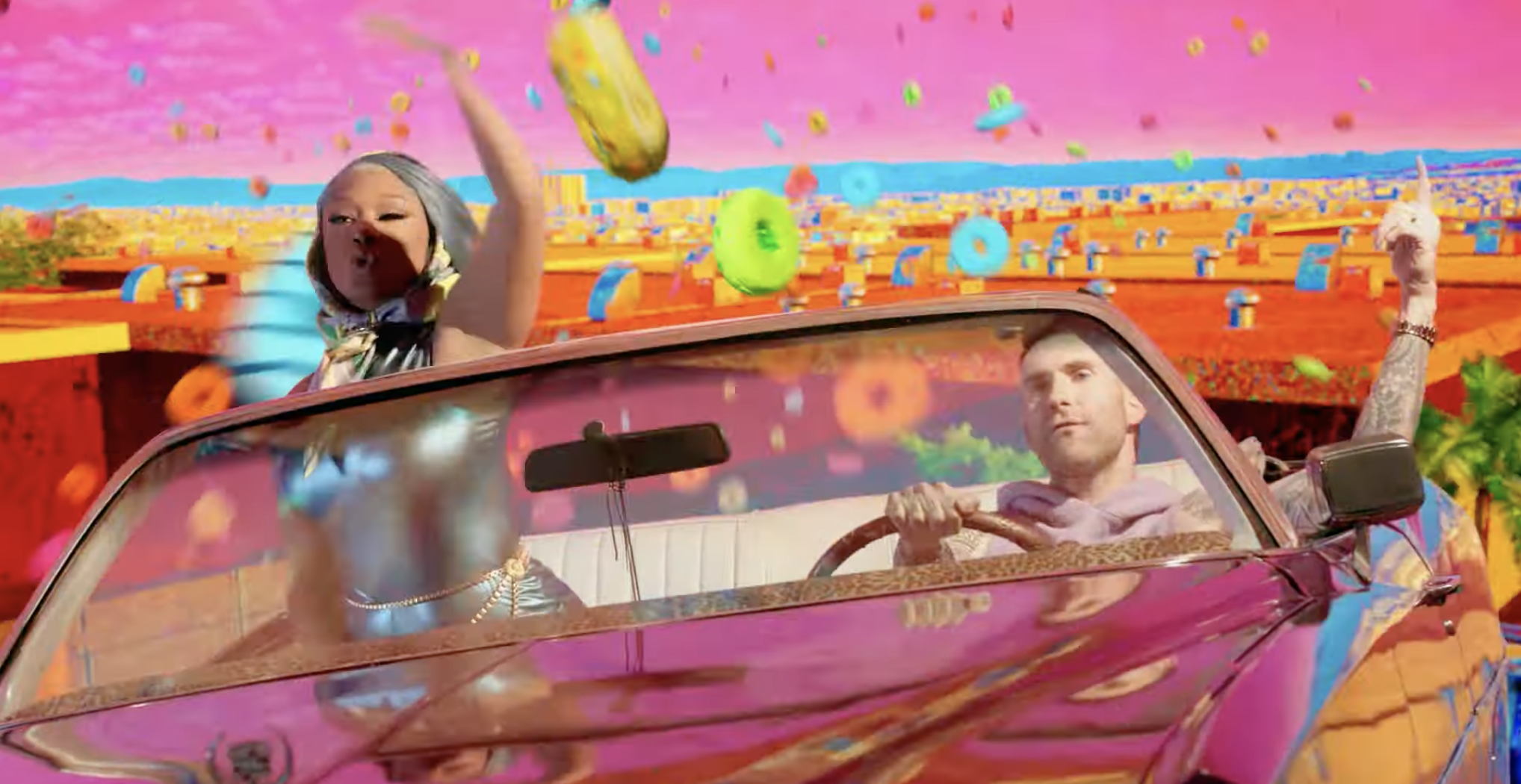 """Maroon 5 Debuts Music Video For Latest Single """"Beautiful Mistakes"""" Feat. Megan Thee Stallion"""