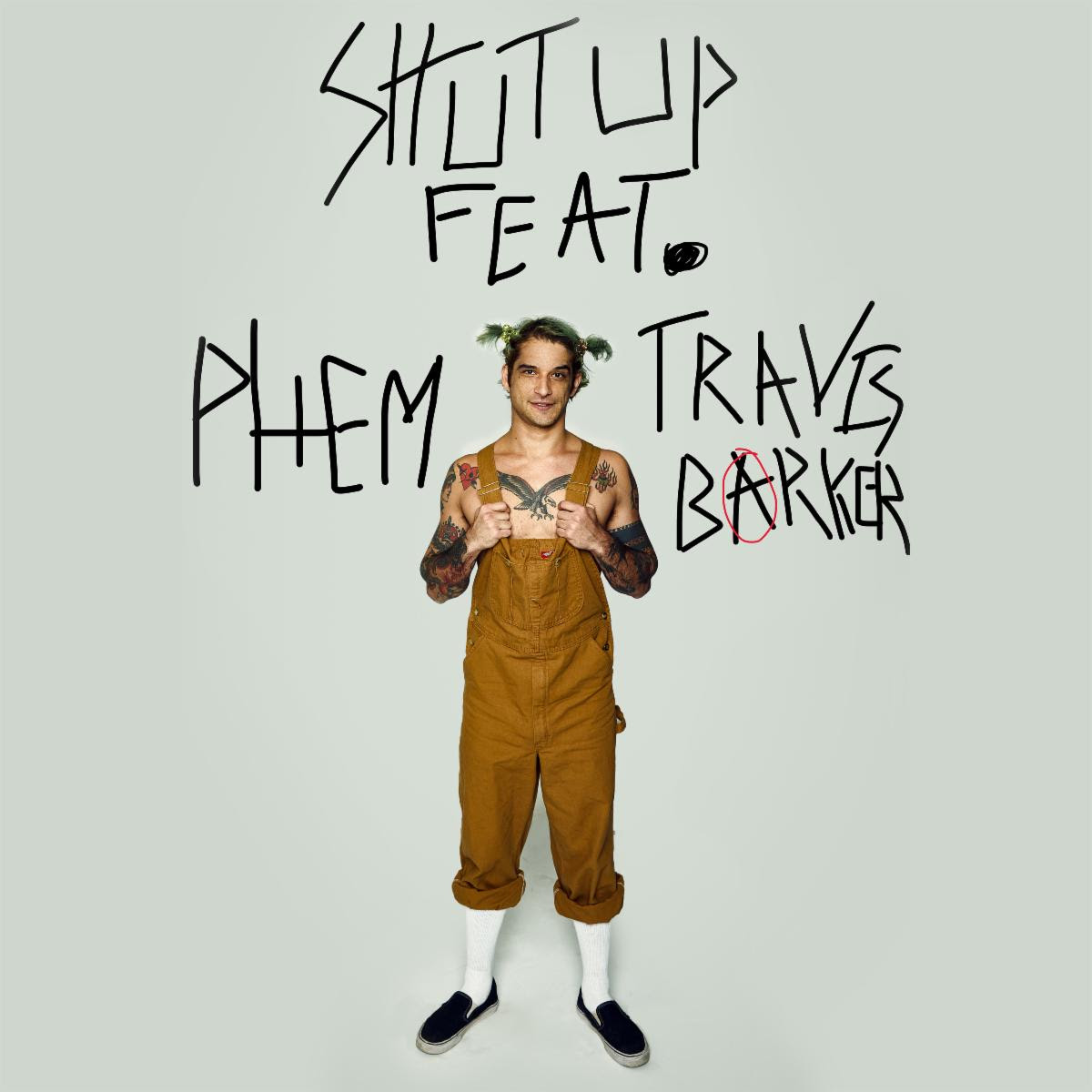 "Tyler Posey releases debut solo single ""Shut Up"" feat. phem, Travis Barker"