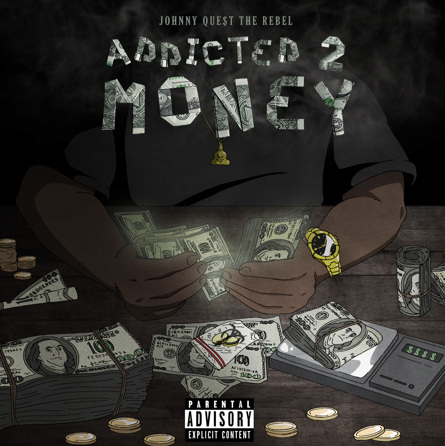 """Johnny Que$t The Rebel Is """"Addicted 2 Money"""" In New Visual"""